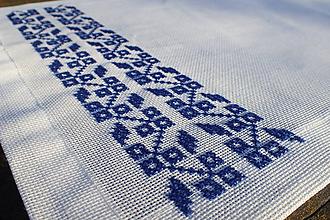 Úžitkový textil - Obrus Modrý Sen - 9901367_