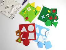 Montessori: Základné tvary, farby a ročné obdobia 3 v 1