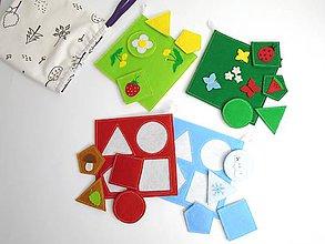 Hračky - Montessori: Základné tvary, farby a ročné obdobia 3 v 1 - 9899105_