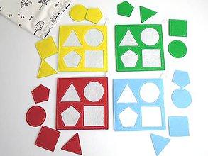 Hračky - Montessori: Základné tvary, farby a ročné obdobia 3 v 1 (Montessori: Základné tvary a farby) - 9899134_