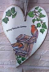 Pokoj tomuto domu - vtáčiky pod brečtanom
