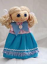 Hračky - Maňuška. Bábika dievčatko Ivetka - 9901026_
