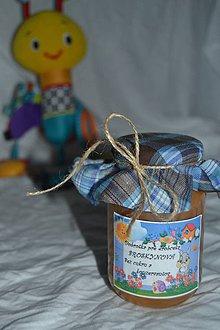 Potraviny - Dobrotka pre vášho drobčeka - JAHODA/JABLKO - 9901744_