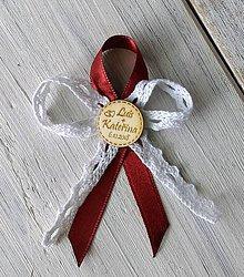Pierka - Svadobné pierko - Kruh gravír - 9899804_