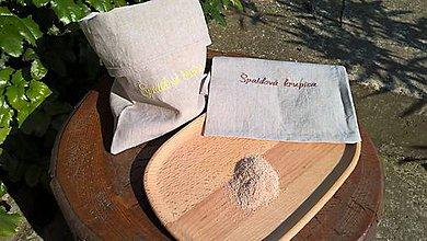 Úžitkový textil - Vrecúško na bezobalové potraviny - 9900552_