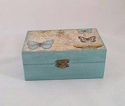 Krabičky - krabička motýle - 9901666_