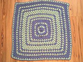 Textil - Deky do kočíka Softy - na želanie  (Pure Water) - 9899114_