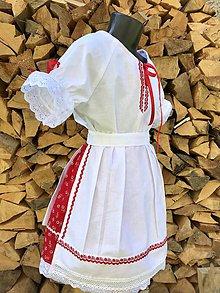 Detské oblečenie - Detský kroj v červenom - 9901604_