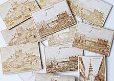 Drevené pohľadnice
