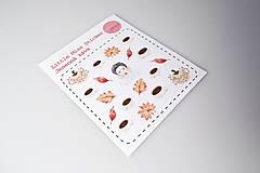Drobnosti - Jesenná káva (nálepky) - 9900025_