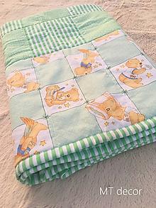 Úžitkový textil - DETSKÁ DEKA - 9899162_