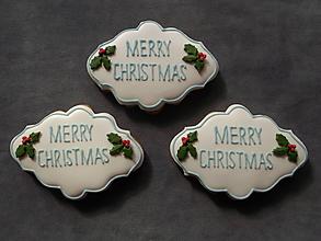Dekorácie - vianočný medovník - 9904592_