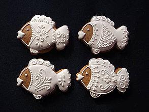 Dekorácie - medovvníkové rybky - 9904615_