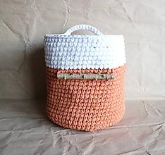 Košíky - v oranžovej - 9903859_