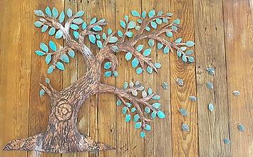 Obrázky - Medený strom vo vetre - 9902643_