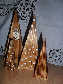 Dekorácie - Vianočné stromčeky- sada. - 9902477_
