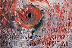Obrazy - J&M /abstraktná maľba na plátne - akryl a sprej/ - 9904964_