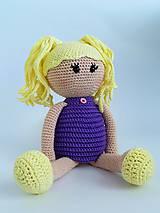 Háčkovaná bábika (Žltá)