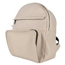 Batohy - Kožený batoh z prírodnej kože v ružovej farbe - 9904182_