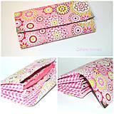 Peňaženky - Peňaženka ružová mandala - 9904420_