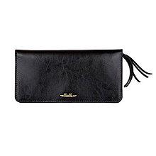 Peňaženky - Dámska kožená peňaženka veľká MARIMA  (Čierna) - 9903503_