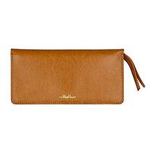 Peňaženky - Dámska kožená peňaženka veľká MARIMA  (Meď/Bronz) - 9903507_