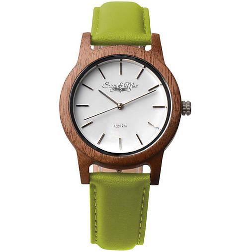 d572f1536 Zelené drevené hodinky Max / waidzeit - SAShE.sk - Handmade Náramky
