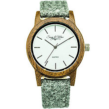 Náramky - Lodénové pánske hodinky Max - 9902247_