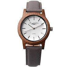 Náramky - Šedé pánske náramkové hodiny Max - 9902333_