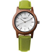 Náramky - Zelené drevené hodinky Max - 9902353_
