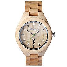 Náramky - Drevené hodinky Steinbock PLATZHIRSCH - 9902378_