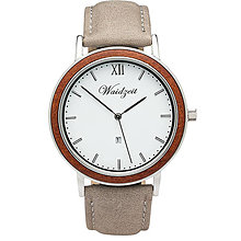 Náramky - Drevené hodinky ALPIN Zima - 9903174_