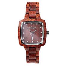 Náramky - Dámske drevené hodinky Impuls PIONIER - 9903371_