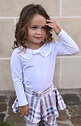 Detské oblečenie - Turbanový nátelník WHITE - 9903269_