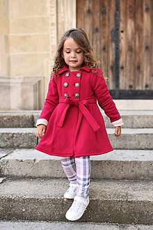 Detské oblečenie - Trenčkabát AMARANT - 9902880_