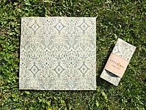 Pomôcky - Pani Bagetka 32 x 35 cm (Indiánske pierka) - 9905041_