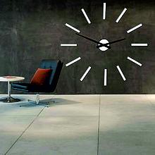 Hodiny - Moderné nástenné hodiny paličky 2D plexi  X0038  (Biela) - 9903046_