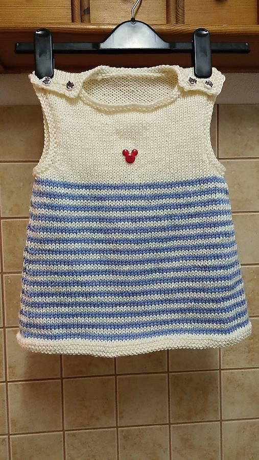 280512513e1d Pletené šaty pre malú parádnicu   Majka akjaM - SAShE.sk - Handmade ...