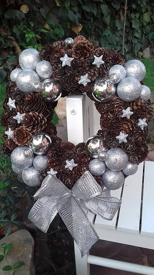 d1d991ada Vianočný veniec / HandMadeEli - SAShE.sk - Handmade Dekorácie