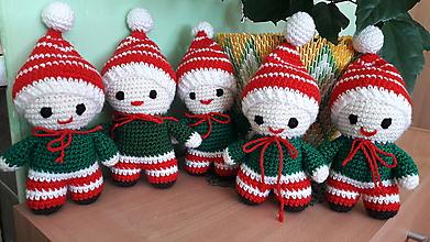 Hračky - Vianočný panáčik -ovia - 9904697_