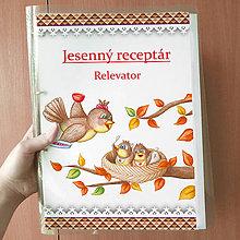 Papiernictvo - Jesenný receptár - trojuholníky - 9903970_