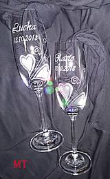 Nádoby - Svadobné poháre - 9906650_