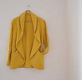 Kabáty - wrap s vreckami  (Ružová) - 9905666_