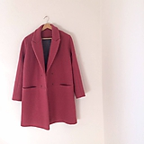 Kabáty - girlfriend coat .vlna - 9906052_