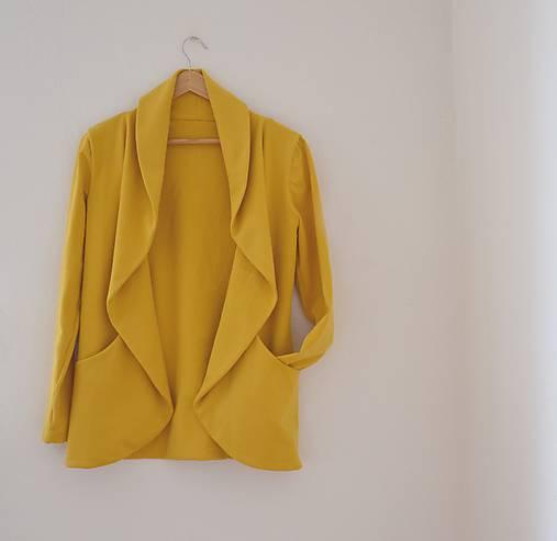 Kabáty - wrap s vreckami  - 9905666_
