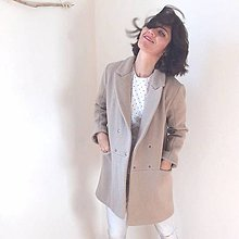 Kabáty - girlfriend coat .vlna - 9906043_