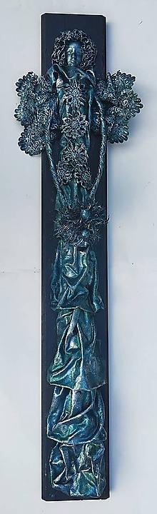 Obrazy - Anjel na dreve 80 cm - 9906488_