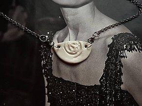 Náhrdelníky - Keramika, Náhrdelník Porcelain - 9906213_
