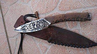 Nože - nôž Biely vlk - 9906537_