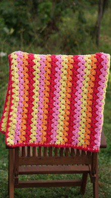 Textil - Háčkovaná deka - Marshmallow - 9905884_